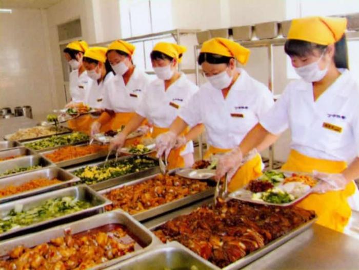 食堂承包管理服务,以满足更高标准的食堂管理需求(图1)
